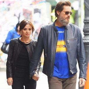 Jim Carrey comments on his girlfriend's death