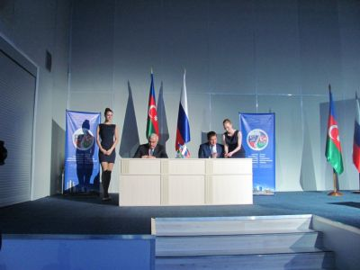 Azerbaijan, Russia sign final document at the end of joint Interregional Forum