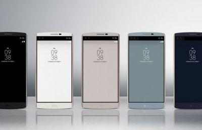 LG V10 smartphone has two selfie cameras