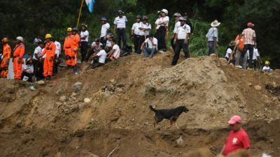 Dozens dead, hundreds missing  after landslide in Guatemala