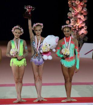 Gimnastımız bürünc medal qazandı - FOTOLAR