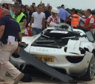26 injured in Porsche Malta rally crash
