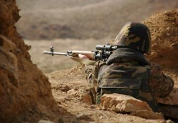 Defense Ministry: Armenian side continued to violate the ceasefire regime