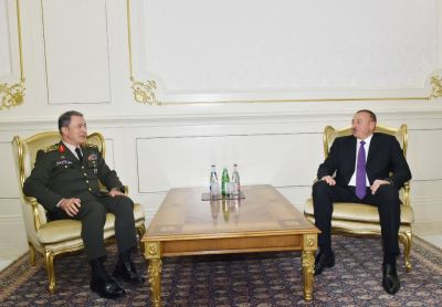 Azerbaijani President received Chief of the General Staff of the Turkish Armed Forces