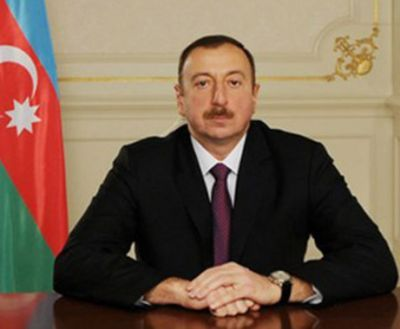 Президент Ильхам Алиев прибыл в Уджарский район