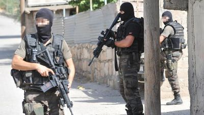 22 detained in anti-terror raids across 6 provinces of Turkey