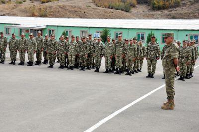 Заместитель министра и военный прокурор республики побывали в воинских частях ФОТО