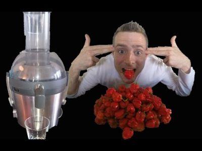 Что будет если выпить сок самых острых перцев в мире