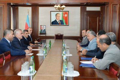 Naxçıvan Ali Məclisində görüş
