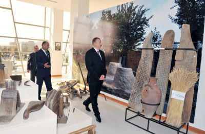 President attended the opening of a new building of Ujar Museum of History and Local Lore PHOTOS