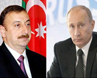 Azərbaycan və Rusiya prezidentləri telefonla danışdılar