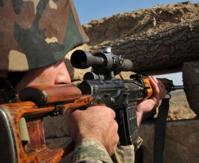 The ceasefire regime broken again by Armenian side