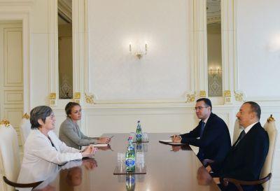 Глава государства принял председателя правления EITI