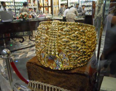 Самое большое в мире золотое кольцо