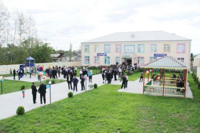 Сдан в эксплуатацию ясли-детский сад, возведенный по инициативе Фонда Гейдара Алиева ФОТО