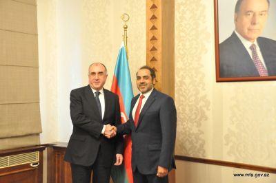 Эльмар Мамедъяров принял новоназначенного посла