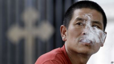 1/3 of young Chinese men will die from smoking STUDY
