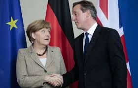 СМИ: Кэмерон попросил Меркель помочь ему сохранить Великобританию в ЕС