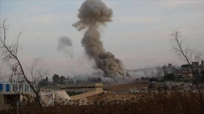 Russian airstrikes kill  300 anti-Assad militants