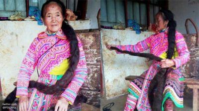 Женщина отрастила косу в два с половиной метра ради рекорда