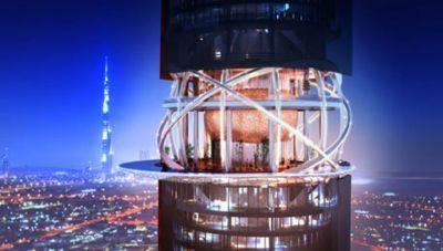 В Дубае появится небоскреб с пляжем и джунглями на крыше