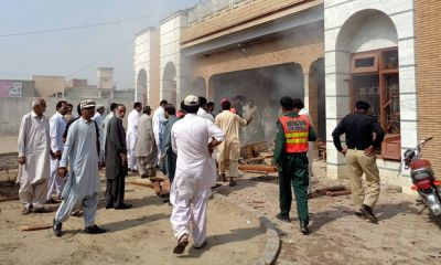 7 killed in suspected suicide bomb attack in Pakistan