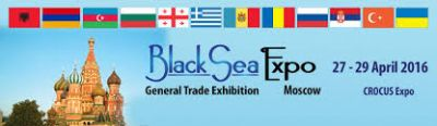 Black Sea Expo 2016 exhibition to be held