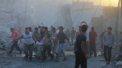 Syria: 8 killed in Russian air strikes