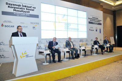 I Azerbaijan Conference on Sustainable Development and Corporate Social Responsibility kicks off