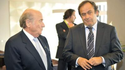 UEFA countries split over backing Platini