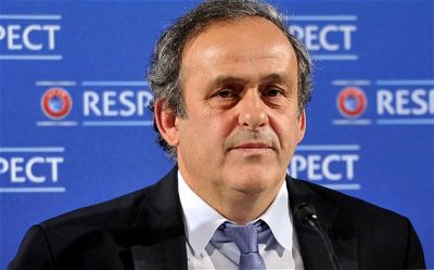 English FA suspends support for Platini