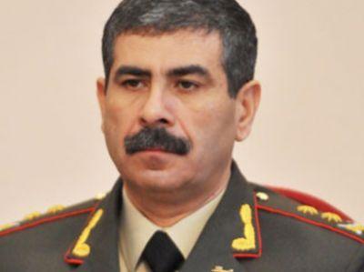 Закир Гасанов поздравил личный состав ВС Азербайджана