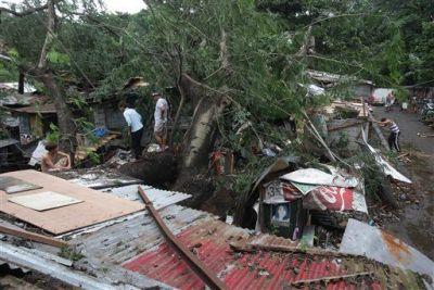 Typhoon leaves 11 dead in Philippine