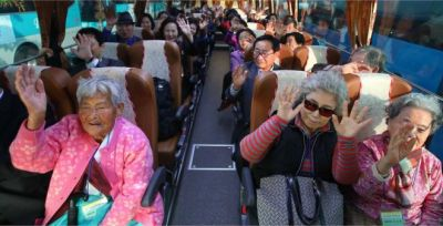 S Koreans head to the North for rare family reunions