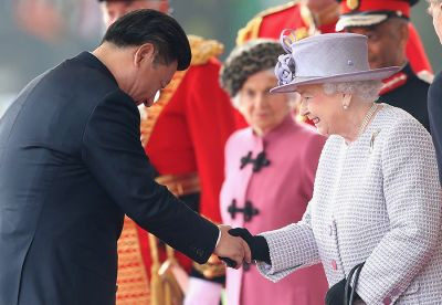 The Queen welcomes Chinese president PHOTOS