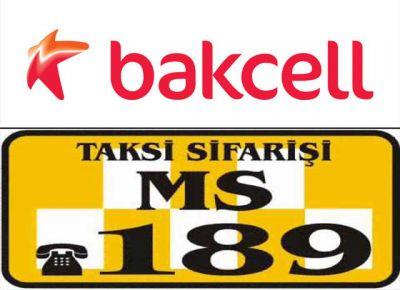 Услуга Wi-Fi от компании «Bakcell» в автомобилях службы заказа такси 189