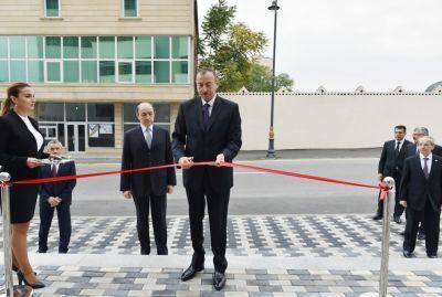 Президент принял участие в открытии Сабунчинского судебного комплекса