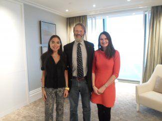 Лейла Алиева встретилась с директором организации WildCru