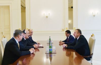 President Ilham Aliyev received head of the Republic of Dagestan of the Russian Federation