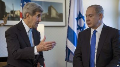 Kerry, Netanyahu call for end to violence