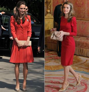 Kate Middleton takes style inspiration from Queen Letizia