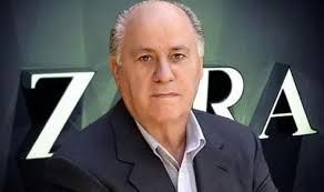 Zara's founder- the world's richest man