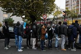 Police clear migrant camp at disused Paris school