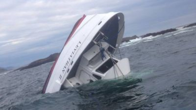 At least 4 dead as tour boat with 27 aboard sinks off Canadian coast