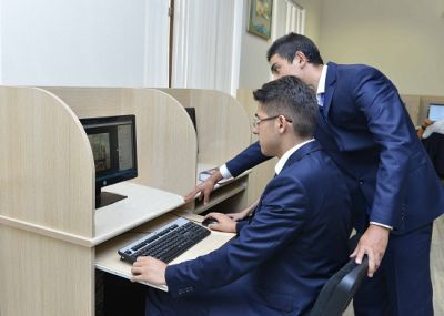 Baku Higher Oil School highlighted by well-known nets