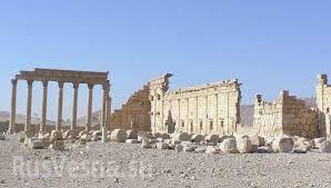 Боевики ИГ взорвали людей, привязав их к античным колоннам