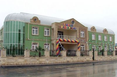 A kindergarten constructed in Hajygabul following the Heydar Aliyev Foundation's initiative launched