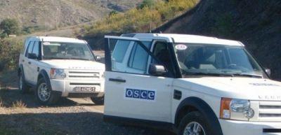 В ходе мониторинга ОБСЕ армяне обстреляли позиции ВС Азербайджана
