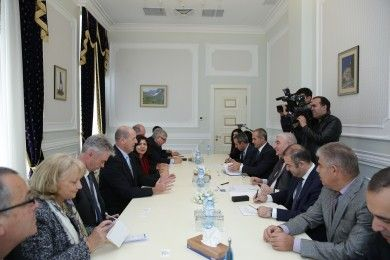 The Chairman of the CEC meets Austrian delegation