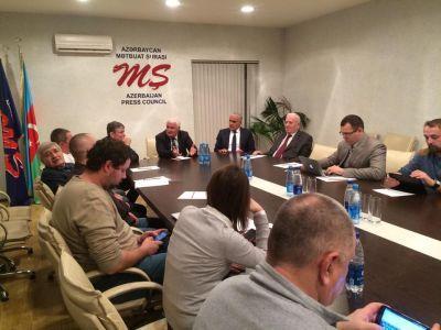 В Совете прессы прошла встреча с российскими журналистами
